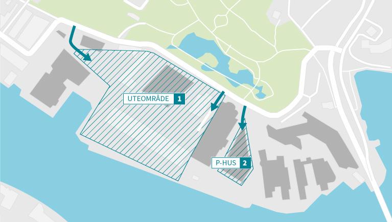 sesam kart Parking at Marineholmen   Marineholmen sesam kart